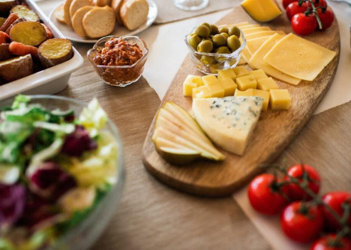 Способы нарезки сыра