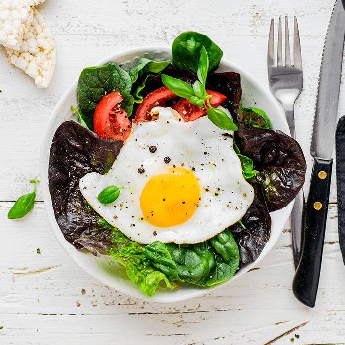 Вариант полезного диетического завтрака в Le Komora