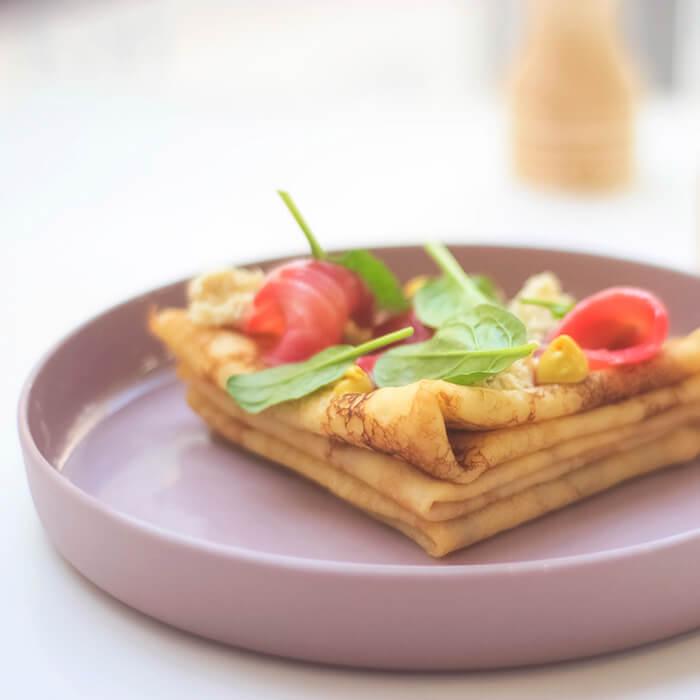 Завтраки меню ресторана Le Komora в Харькове