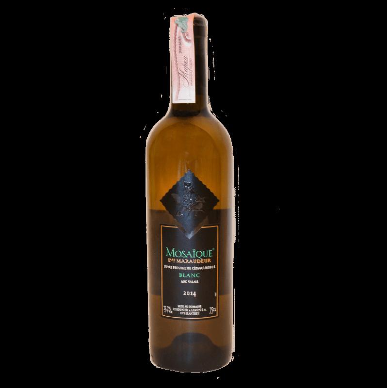 Mosaїque Du Maraudeur Blanc Assemblage  <small>2014</small>