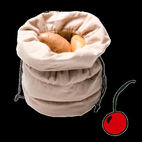 """Мешок  для картошки с вишневыми косточками  """"Jute"""""""