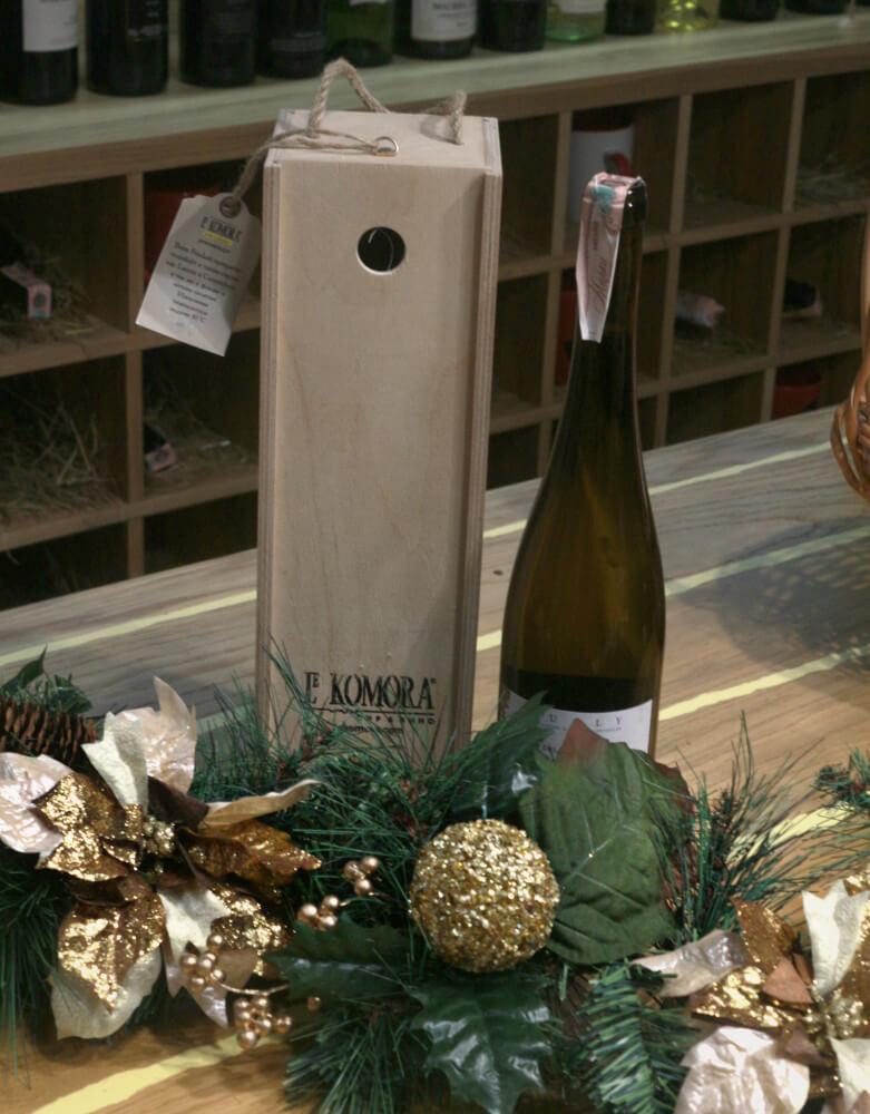 Подарочная оригинальная упаковка для вина