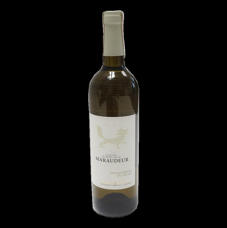 Johannisberg Valais AOC Grands Vins du Maraudeur 2016