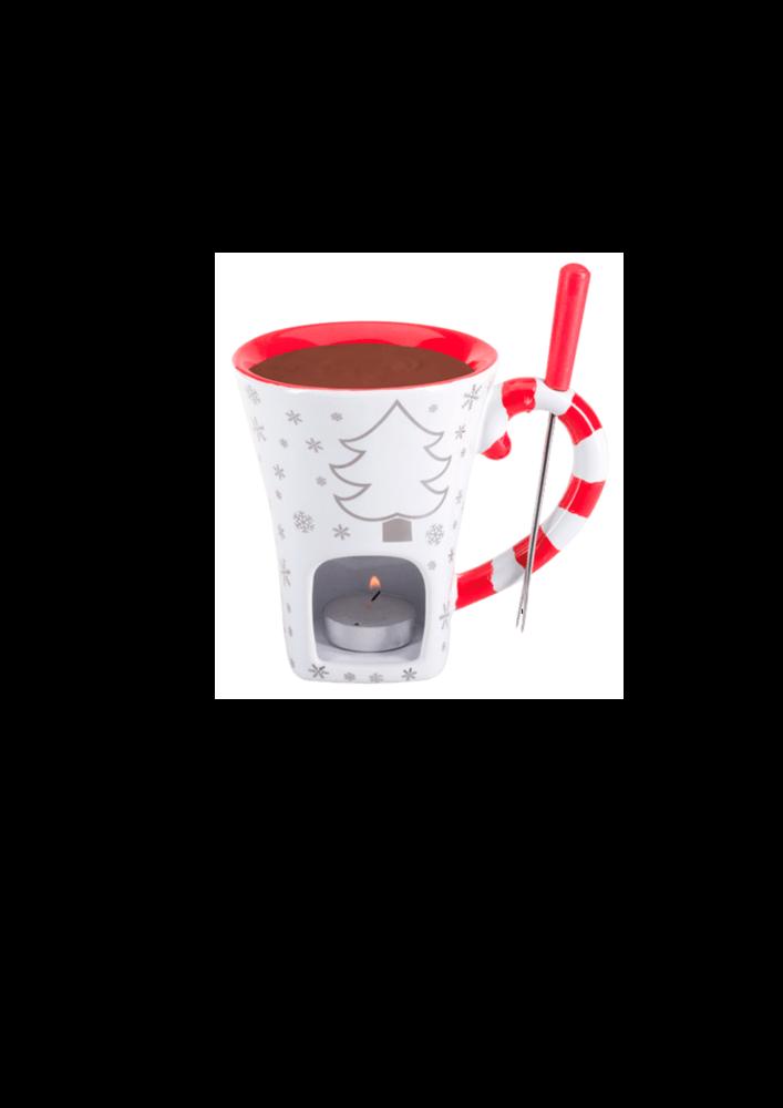 Набор для шоколадного фондю -Schokoladenfondue - Set Cup