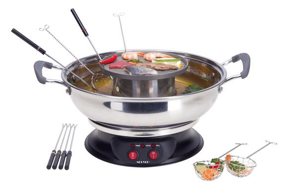 Гарячий горщик (Hot Pot, 16-teilig, 1950 W)