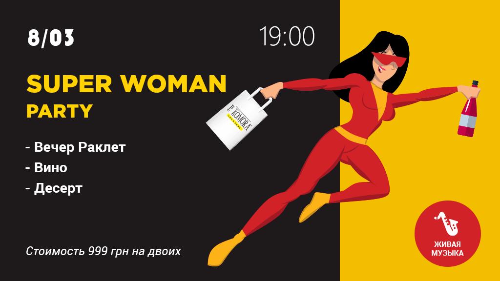 Super Woman Party