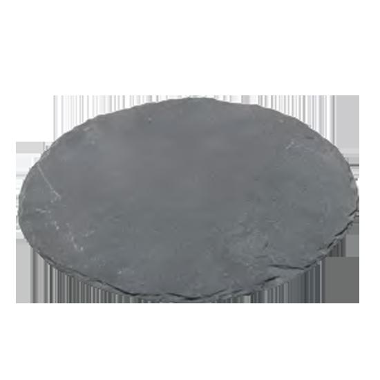 Доска сланцевая, круглая, 9 см, 2 шт