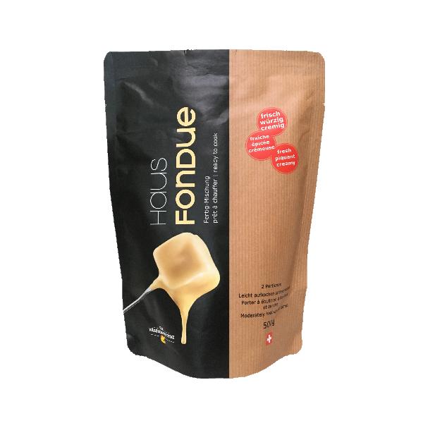 Сыр для фондю (смесь) Hausfondue fix fertig, Beutel 500г